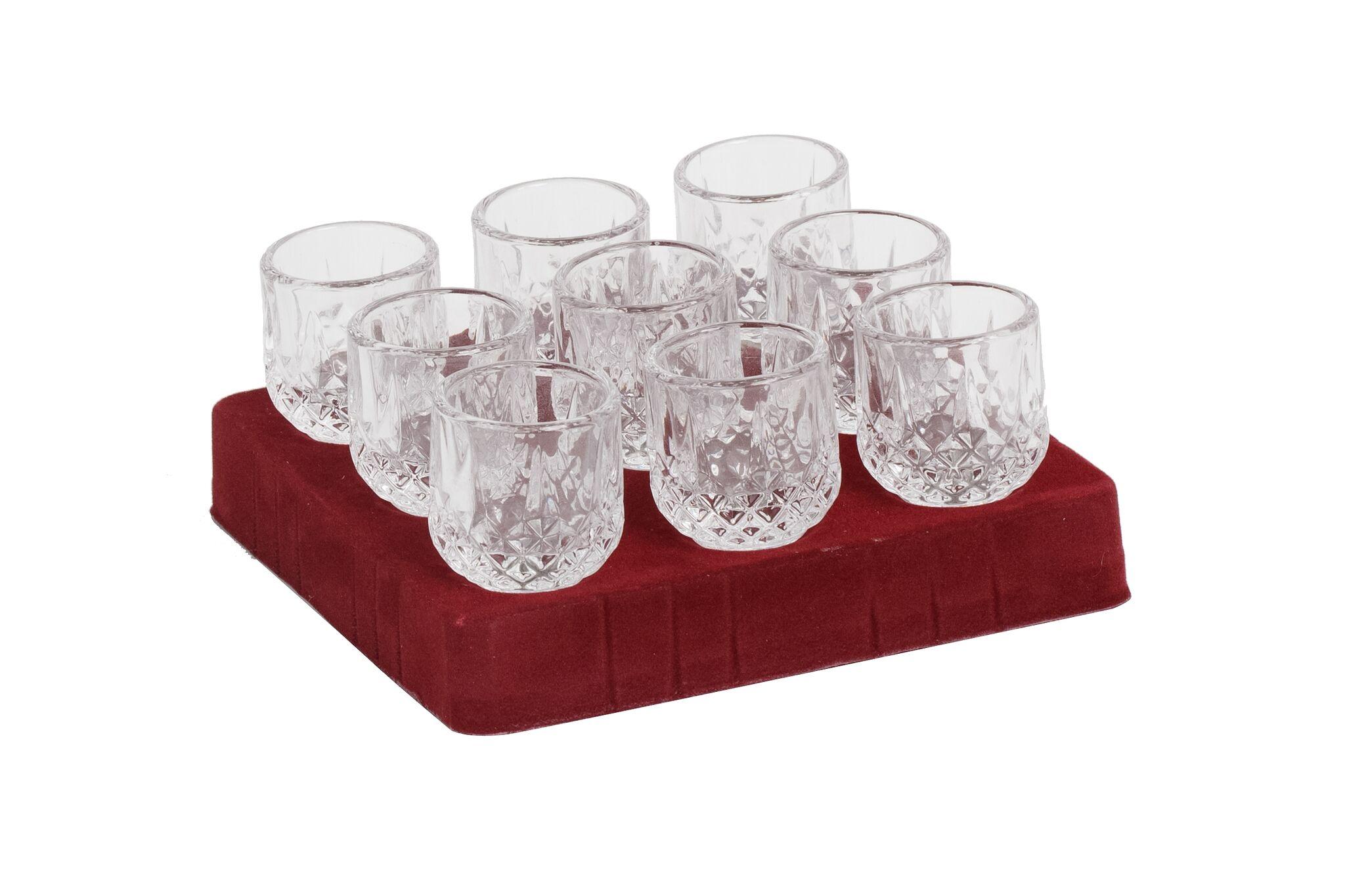 Glasses for Menorah (Oil)