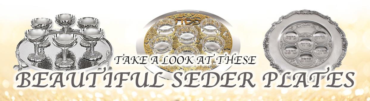 Pesach Seder Plates