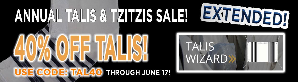 Talis Sale 40% OFF! Use Code TAL40